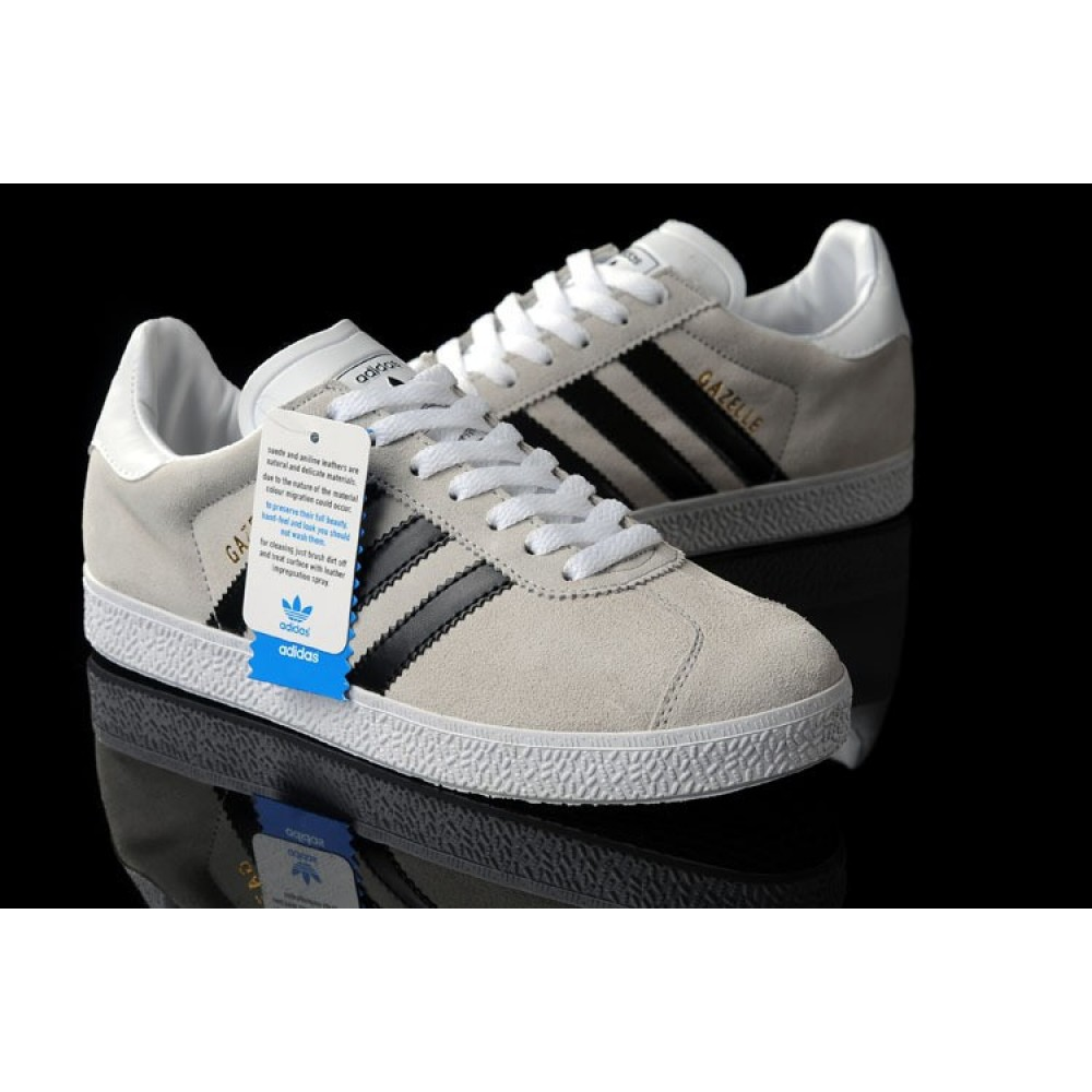 Кроссовки Adidas Gazelle Vintage Leather Black ()