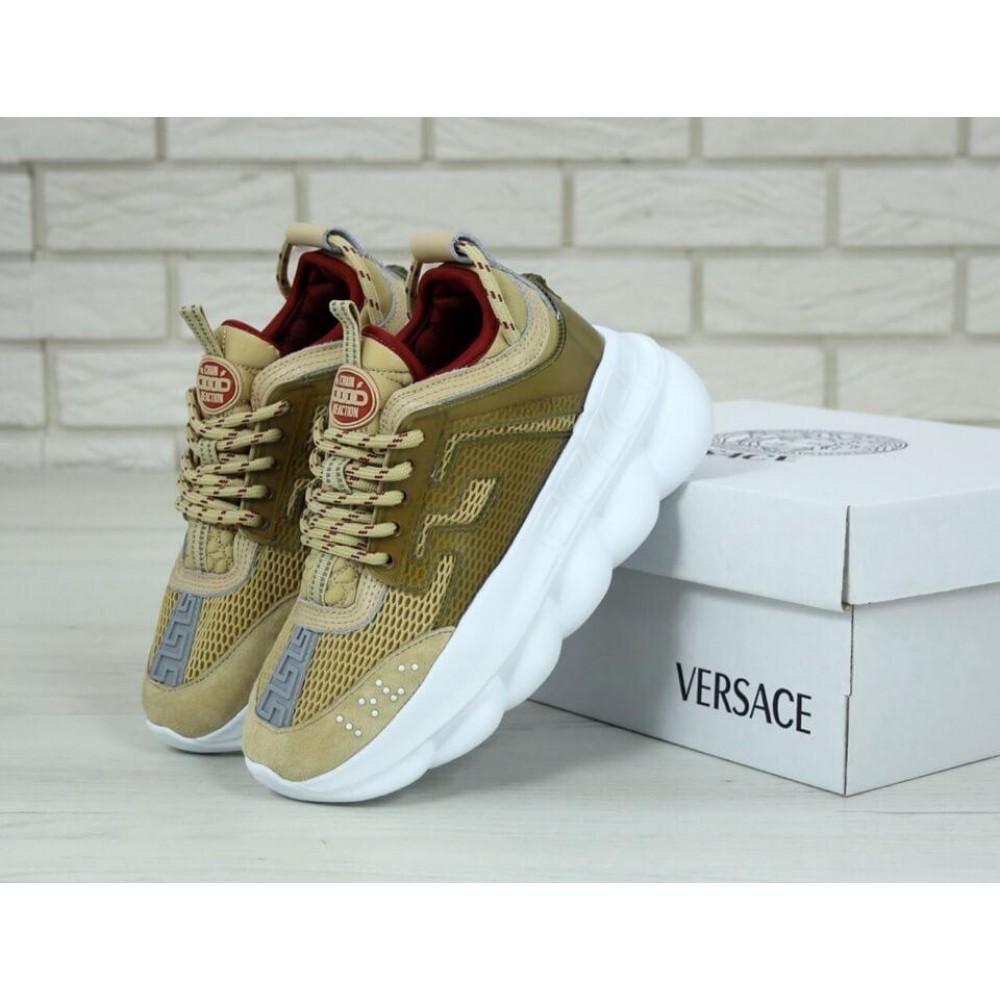 Женские модные бежевые кроссовки ()