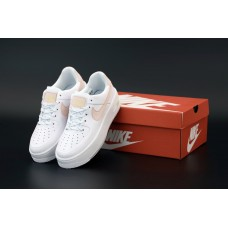 """Кроссовки NIKE AIR FORCE 1 LOW """"White/Pink"""""""