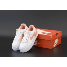 """Кроссовки NIKE AIR FORCE """"White\ Pink"""""""