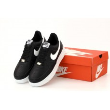 "Кроссовки Nike Air Force 1 Low  ""Black/ White"""