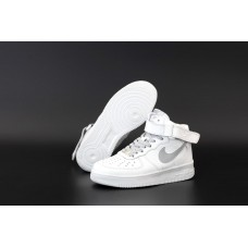 """Кроссовки NIKE AIR FORCE 1 MID """"White"""""""