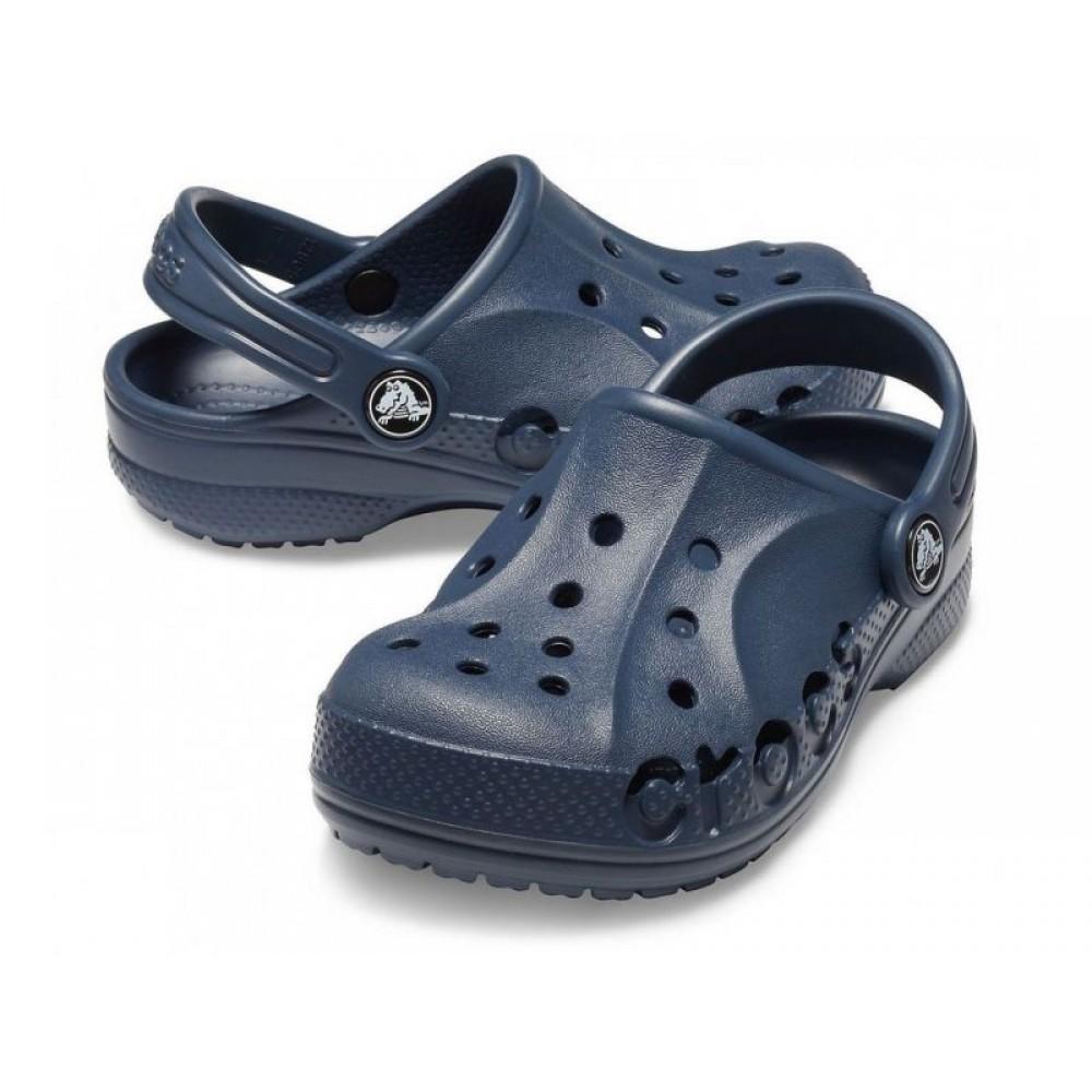 """Детские Кроксы Crocs Kids' Baya™ Clog """"Navy"""" (Темно-синий)"""