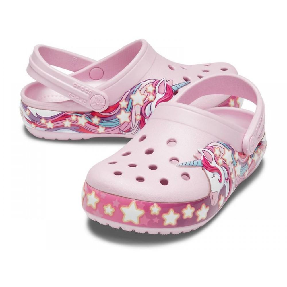 """Кроксы Crocs Kids' Crocband Clog Unicorn """"Pink"""" (Розовый)"""