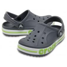 """Детские кроксы Crocs Kids' Bayaband Clog Volt """"Grey"""""""