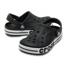 """Детские кроксы Crocs Kids' Bayaband Clog Volt """"Вlack"""""""