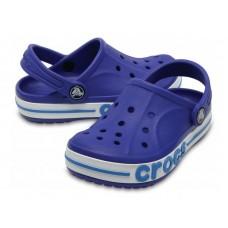 """Детские кроксы Crocs Kids' Bayaband Clog Volt """"Blue"""""""