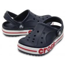 """Детские кроксы Crocs Kids' Bayaband Clog Volt """"Navy"""""""