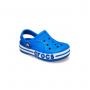 """Детские кроксы Crocs Kids' Bayaband Clog """"Light Blue"""" (Светло-синий)"""