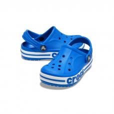 """Детские кроксы Crocs Kids' Bayaband Clog """"Light Blue"""""""