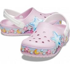 """Детские кроксы Crocs Kids' Bayaband Clog """"Light Pink"""