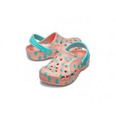"""Детские кроксы Crocs Kids' Baya Clog Volt """"Pink/Blue"""""""
