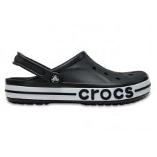 "Кроксы Crocs Bayaband Clog Volt ""Вlack/White"""