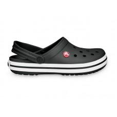 """Кроксы Crocs Crocband """"Вlack/White"""""""