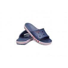"Шлепки Crocs Bayaband Slide ""Dark Blue"""