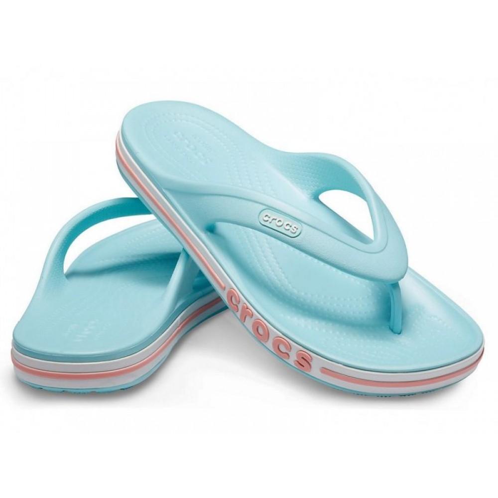 """Вьетнамки Crocs Bayaband Flip """"Blue"""" (Голубой)"""