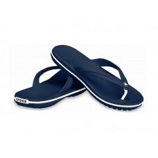 """Вьетнамки Crocs Crocband™ Flip """"Navy"""""""