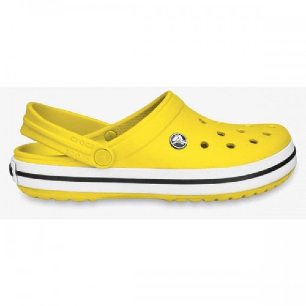 """Кроксы Crocs Crocband """"Yellow"""" (Желтый)"""