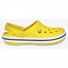 "Кроксы Crocs Crocband ""Yellow"""