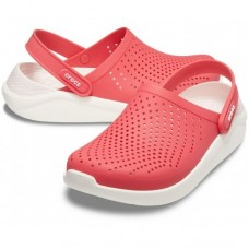 "Сабо Кроксы Crocs LiteRide™ Clog ""Poppy/White"""