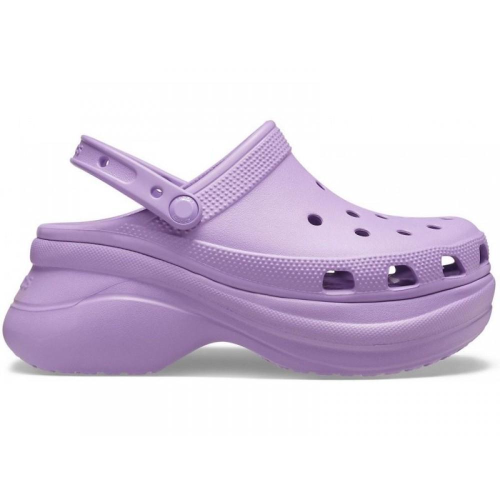 """Кроксы на платформе Crocs Classic Bae Clog """"Рurple"""" (Сиреневый)"""
