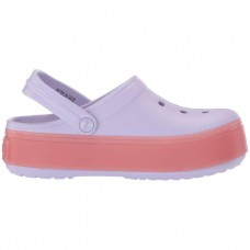"Сабо Кроксы Crocs Platform  ""Lavender/Melon"""