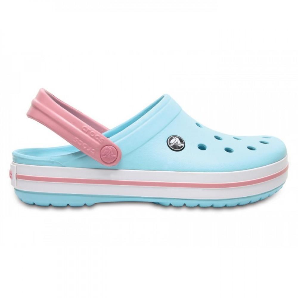 """Кроксы Crocs Crocband Ice """"Blue/White"""" (Голубой)"""