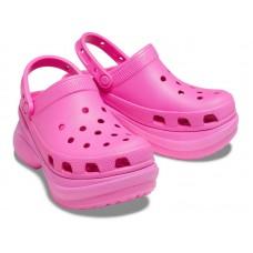 "Кроксы на платформе Crocs Classic Bae Clog ""Crimson"""