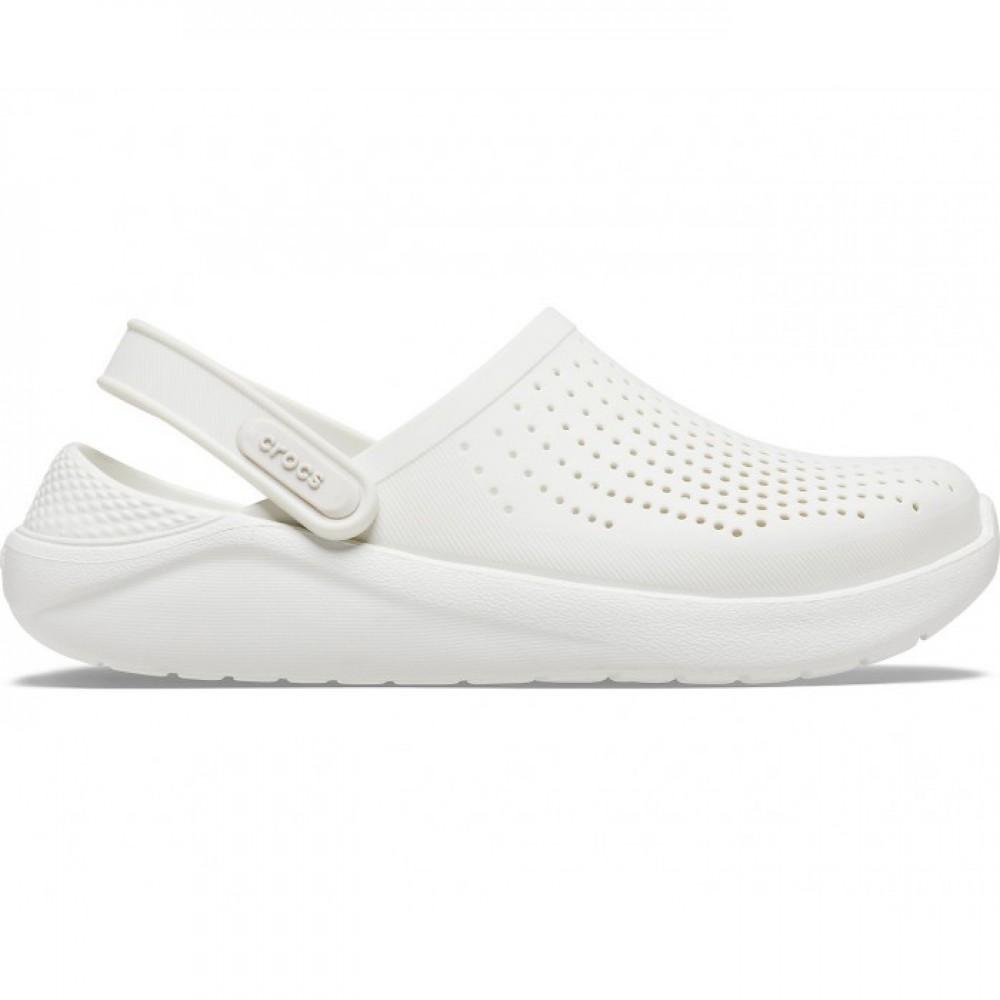 "Сабо Кроксы Crocs LiteRide™ Clog Almost ""White"" (Белый)"