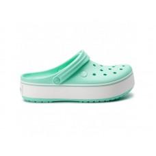 "Сабо Кроксы Crocs Platform ""Mint/White"""