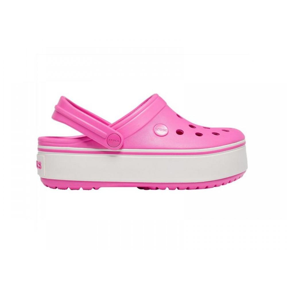 """Сабо Кроксы Crocs Platform """"Pink"""" (Розовый)"""