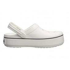"""Сабо Кроксы Crocs Platform Clog """"White"""""""