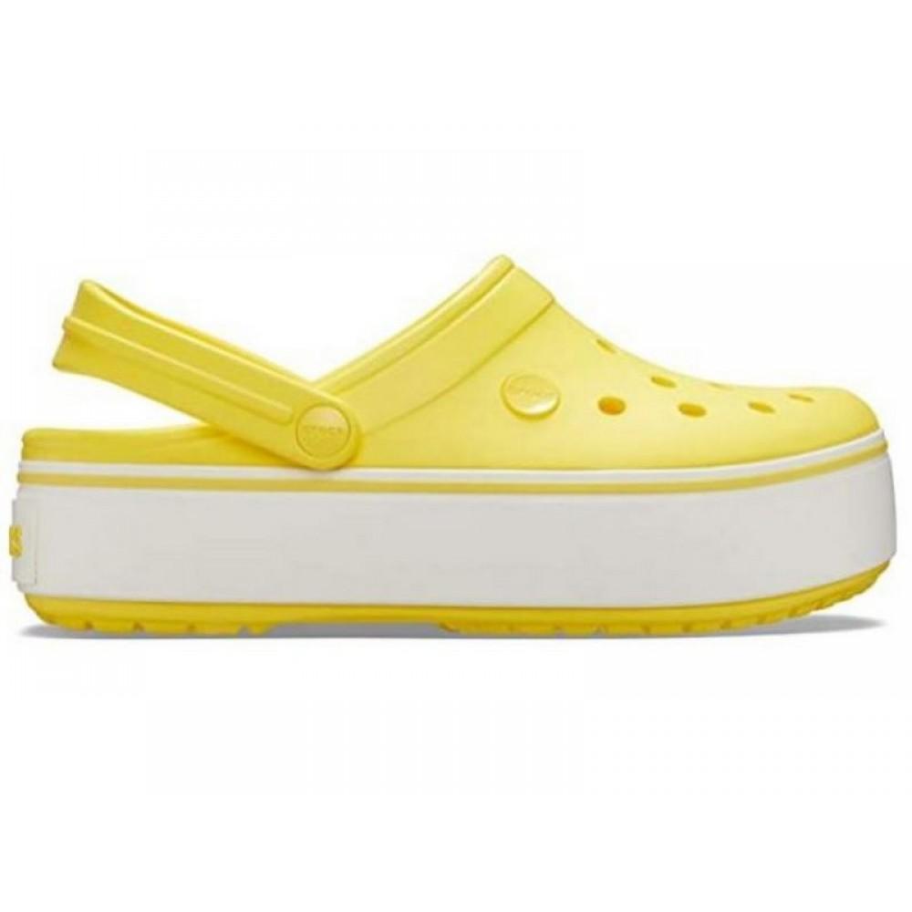 """Сабо Кроксы Crocs Platform """"Yellow"""" (Желтый)"""