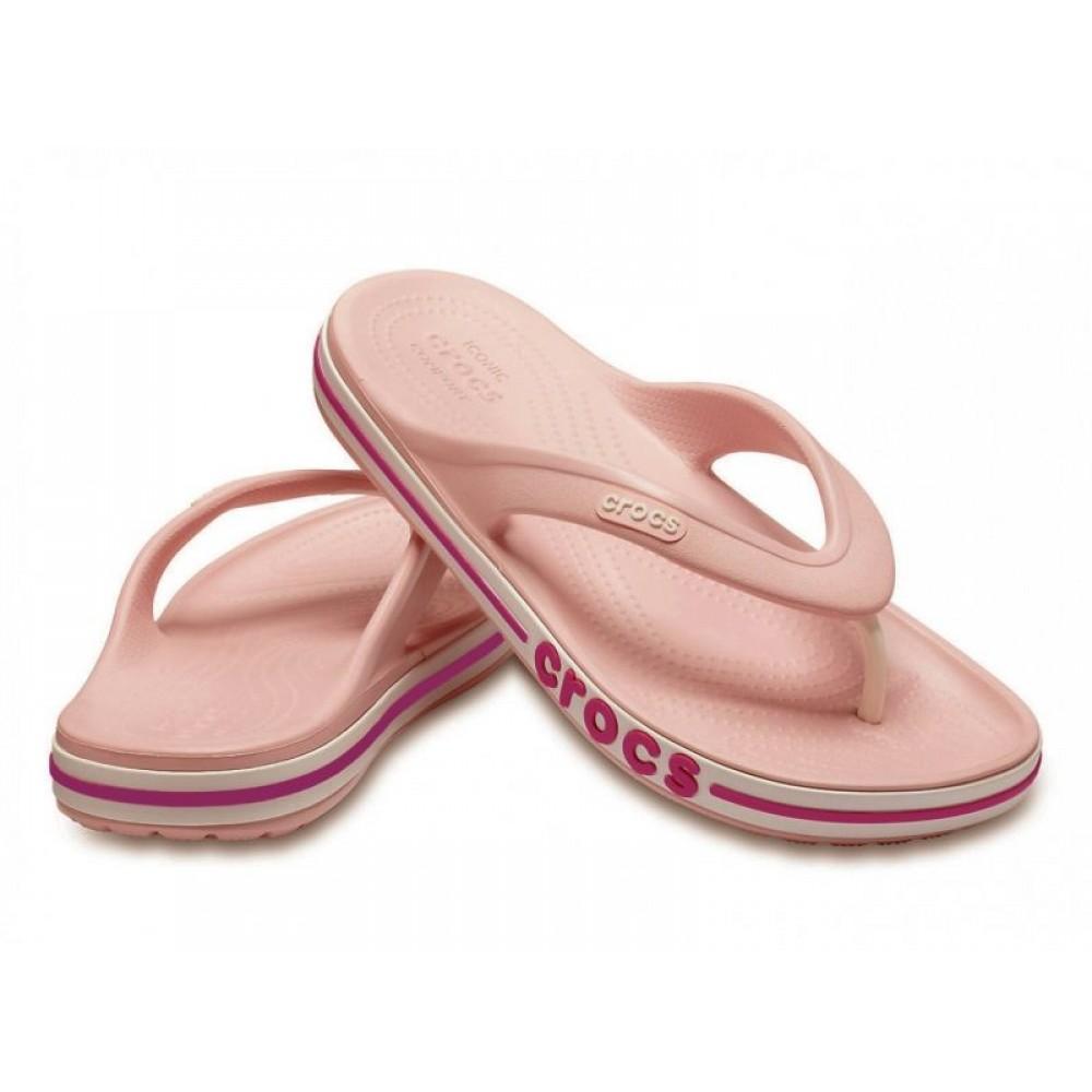 """Вьетнамки Crocs Bayaband Flip """"Pink"""" (Розовый)"""